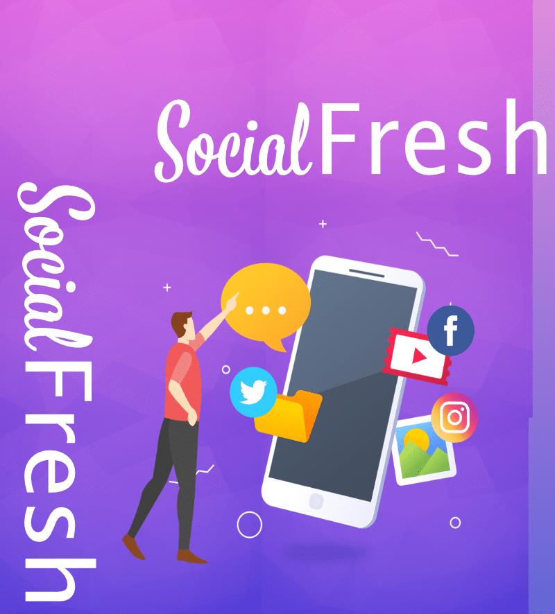 Socialfresh - Bilder für Facebook und Instagram